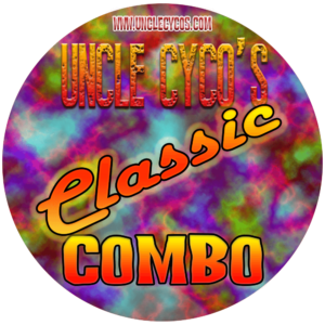 Uncle Cyco's verkkokauppa - Classic Combo - aromitiivisteet settinä!